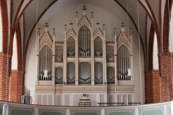 Die Reubke-Orgel in der St. Marienkirche zu Kyritz